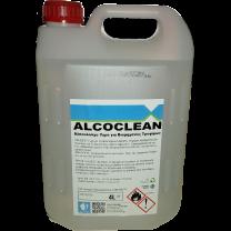 Αλκοολούχο υγρό καθαρισμού χεριών και σκευών Alcoclean 4lit