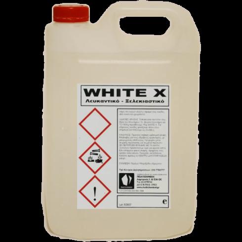 Υγρό καθαριστικό λεκέδων White X 4lit Ρούχων