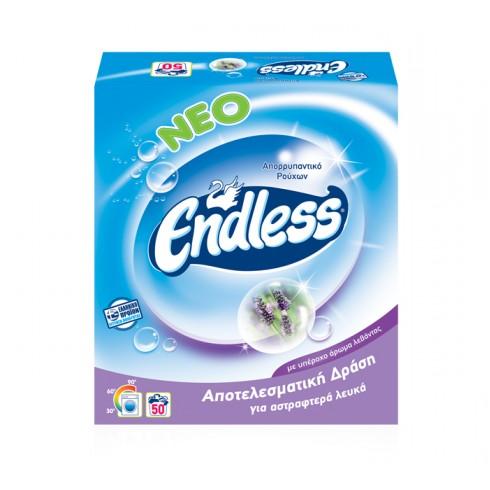 Endless Σκόνη Πλυντηρίου Λεβάντα - 50M - 3,5 κιλά