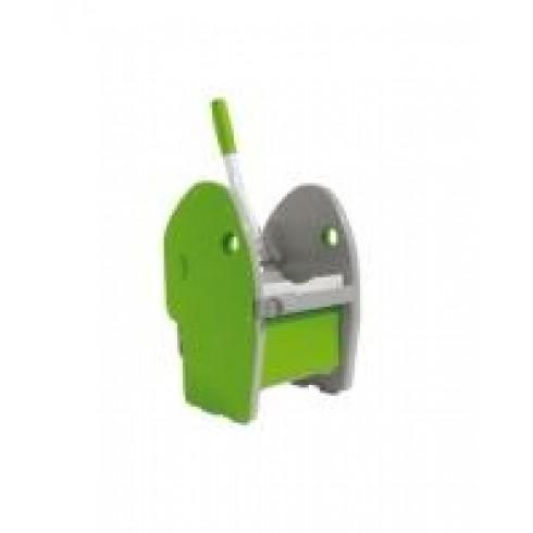 Πρέσσα πλαστική πράσινη Καρότσι Σφουγγαρίσματος