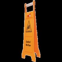 Πινακίδα προειδοποίησης υγρού πατώματος