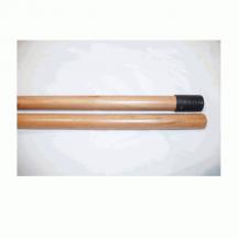 Κοντάρι ξύλινο, λούστρο 1,20 μ. (Ελληνικό σπείρωμα)