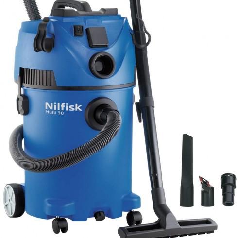 Σκούπα υγρών - στερεών Nilfisk Multi II 30T Επαγγελματικές Σκούπες