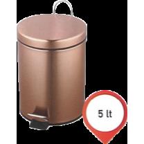 Κάδος WC 5 lit, Μπρονζέ