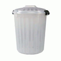Κάδος απορριμάτων στρογγυλός 60 lt