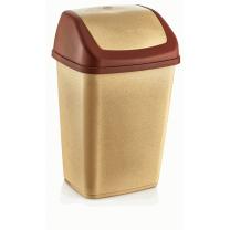 Κάδος απορριμάτων 20/35 lit, με παλλόμενο καπάκι