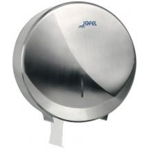 Θήκη για χαρτί τουαλέτας, 400 - 700 γρ., Inox - ΜΑΤ / Γυαλιστερή