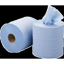Χαρτί κουζίνας γκοφρέ, 2Φ, 1800 γρ., 6 ρολών MIDI μπλε