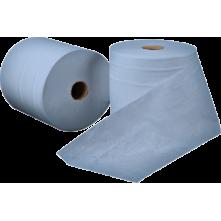 Χαρτί κουζίνας γκοφρέ, 2φ, 800 γρ., 8 ρολών, μπλε