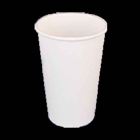 Χάρτινο ποτήρι νερού 250 ml, σετ 50 τμχ.