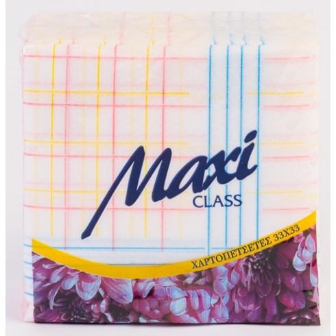Χαρτοπετσέτα 1Φ, 33 x 33 εκ., οικιακής χρήσης Χαρτοπετσέτες