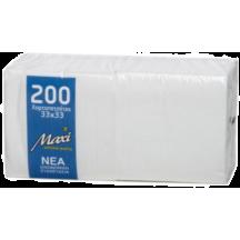 Χαρτοπετσέτα 1Φ, 33 x 33 εκ., οικιακής χρήσης, 12 διπλών πακέτων/συσκ.