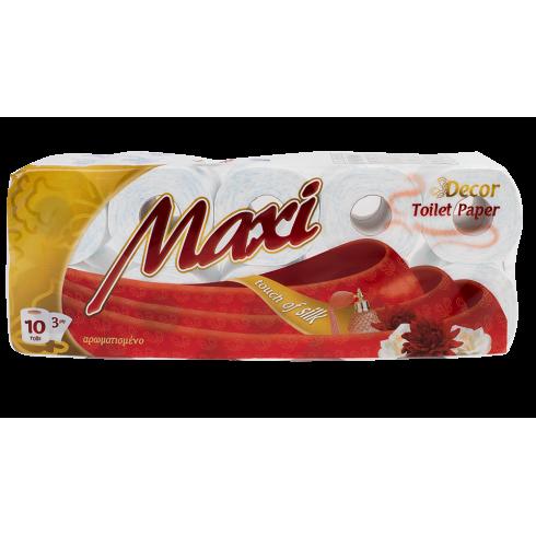 Χαρτί υγείας με άρωμα γκοφρέ, 3Φ, 130 γρ., 10 ρολών, οικιακής χρήσης
