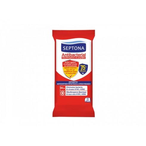 Αντισηπτικά μαντηλάκια Septona